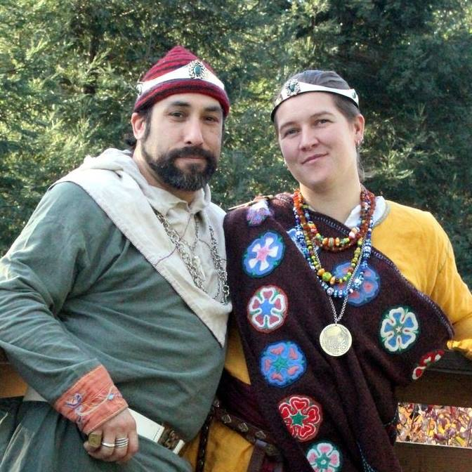 Hans and Helga King and Queen of the West