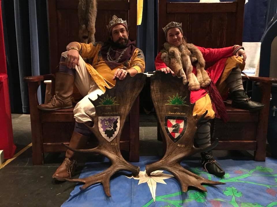 King Hans and Queen Helga