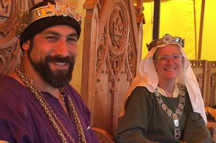Hans von Wolfholz and Ivone PonsLeyr, King and Queen of the West