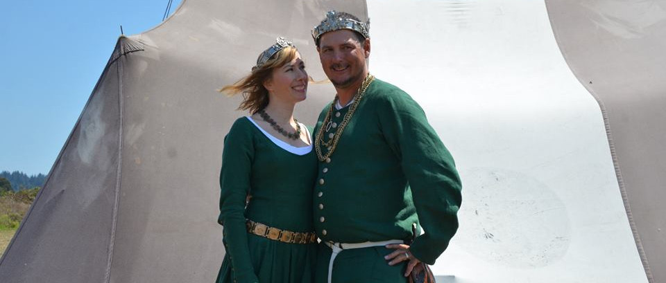 Miles Fitz-Rauf and Æsa Uthersdottir, King and Queen of the West